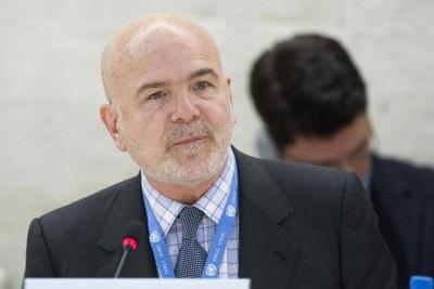 L'expert des droits de l'homme Michel Forst.