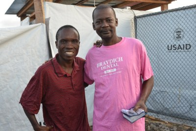 First two survivors of the U.S.-run field hospital for Ebola-stricken health workers.
