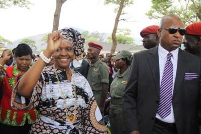 First Lady Grace Mugabe at the Zanu-PF Congress in Harare. (file photo)