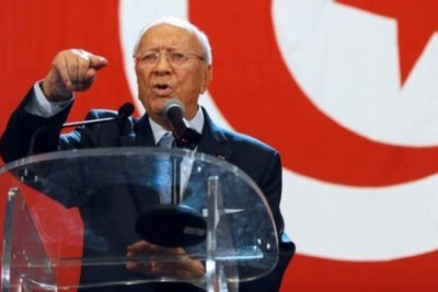 Béji Caïd Essebsi (file photo).