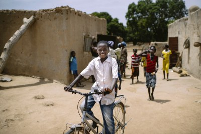 A village in Burkina Faso