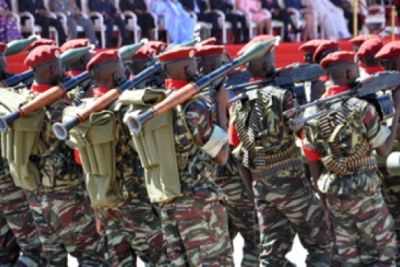 The Presidential Security Regiment (file photo).