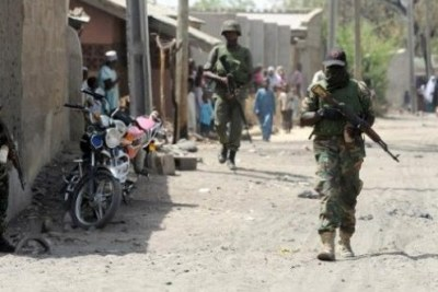 L'armée nigériane