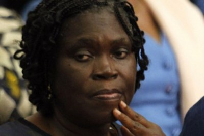 Former first lady Simone Gbagbo.