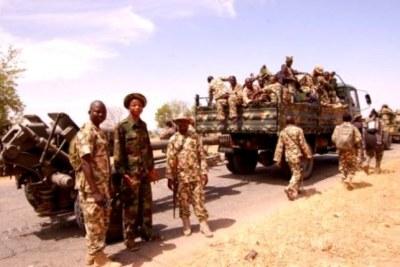 Nigerian military.