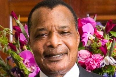 Denis Sassou-Nguesso, le président du Congo-Brazzaville.