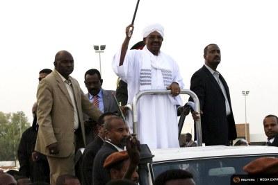 Sudanese President Omar al-Bashir.
