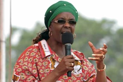 ZImbabwe First Lady Grace Mugabe .