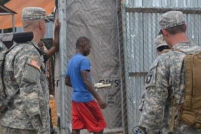 Soldats américains au Cameroun