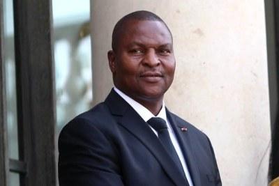 Président de la Centrafrique, Faustin-Archange Touadéra