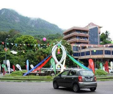 Le VIe carnaval International de Victoria aux Seychelles