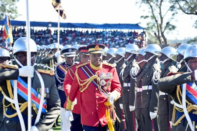 King Mswati III of the Kingdom of Eswatini (file photo).