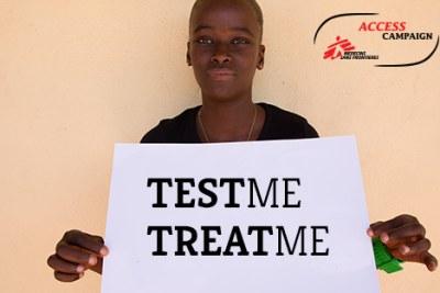 La campagne «Test ant treat» pour réduire les nouvelles infections au virus du sida.