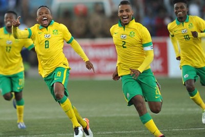 Bafana Bafana (file photo).
