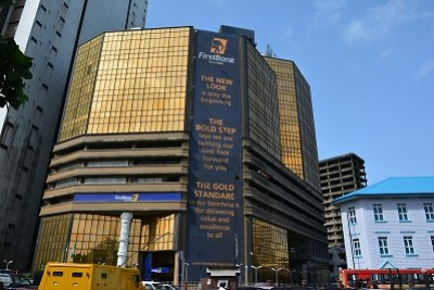 First Bank, Nigeria, Lagos. FBN is Nigeria's oldest and largest banking institution with over 960 branches (including 750 in Nigeria) across 12 countries. It is a leading provider of trade finance in Nigeria and a strong financier of the SME sector.