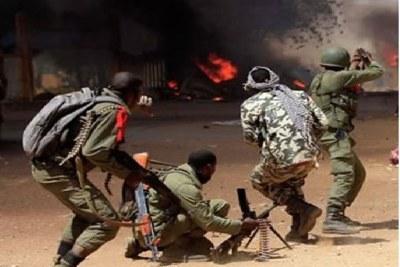Mali military.