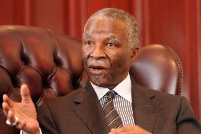 H.E. Thabo Mbeki, Président du Groupe de haut niveau sur les flux financiers illicites (FIF)