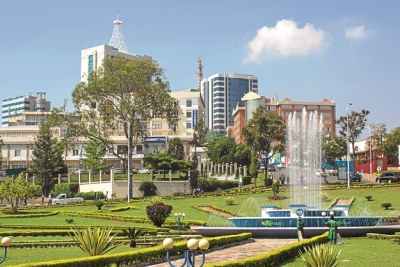Kigali City's infrastructure boom.