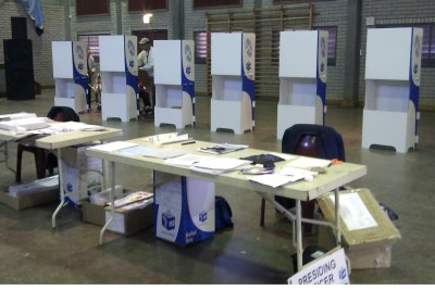 IEC voting station (file photo).