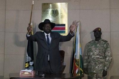 Salva Kiir Mayardit leader du Sud-Soudan