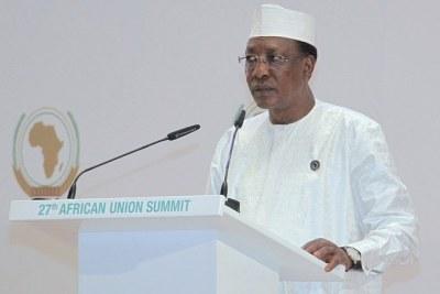 Le président en exercice de l'UA, Idriss Déby, a pris acte de la décision de la Cour constitutionnelle.
