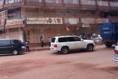 It is not the first time Uganan opposition leader Kizza Besigye's car is being towed away.