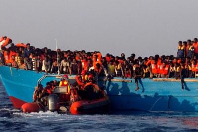opérations de secours par des ONG