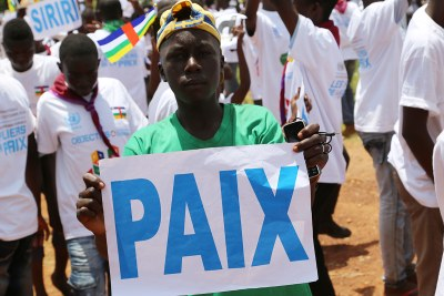Peace day in Bangui