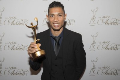 L'athlète sud-africain, Wayde Van Niekerk primé « Athlète masculin de l'année »