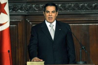 Zine el-Abidine Ben Ali, ancien président tunisien (1987-2011)