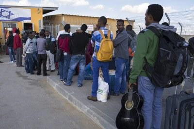 Réfugiés éritréens