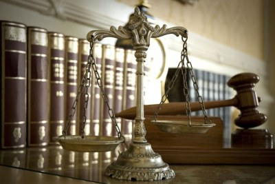 Symbole de la loi et de la justice