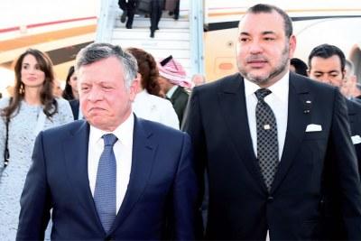 Visite du roi de la Jordanie, Abdallah II au Maroc