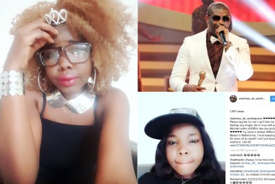 Lady Professes Love for Don Jazzy.