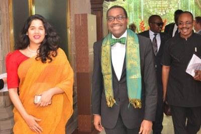 Visite officielle de quatre jours du président de la Banque africaine de développement, Akinwumi Adesina, en Inde.