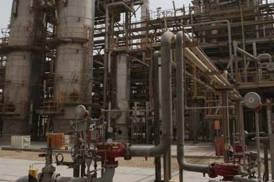 Raffinerie de pétrole en Afrique