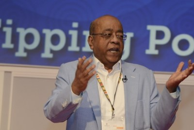 Mo Ibrahim at the| 2017 Mo Ibrahim Governance Weekend, Marrakesh, Morocco