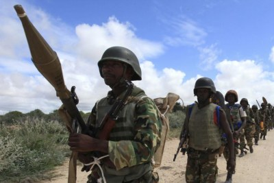 African Union Mission in Somalia (file photo).