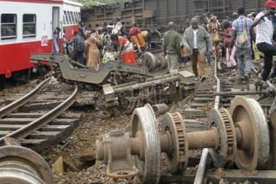 Accident de train à Eseka au Cameroun