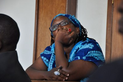 Makerere University researcher Stella Nyanzi (file photo).
