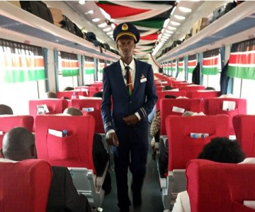 Kenya's New Nairobi-Mombasa Train - PHOTOS