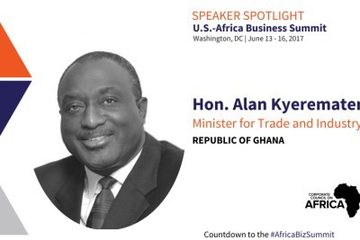 Honorable Alan Kyerematen, Minister of Trade and Industry, Republic of Ghana