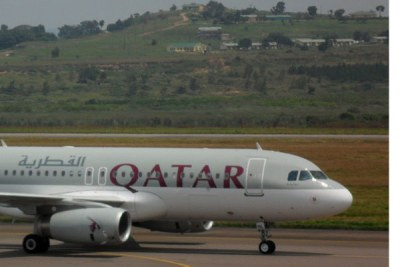 Un avion de Qatar Airways