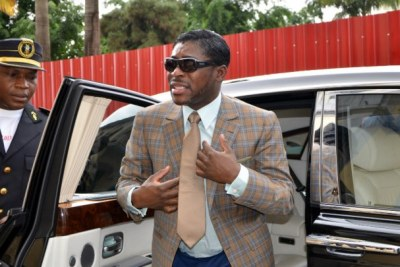 Vice President of Equatorial Guinea Theodorin Obiang