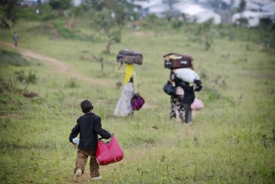 People fleeing violence in Burundi (file photo).