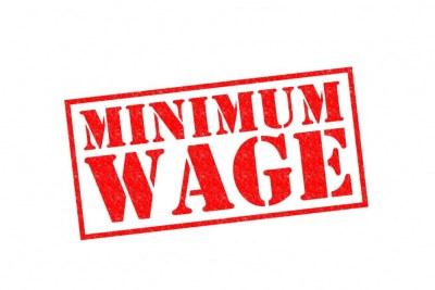 Minimum wage.
