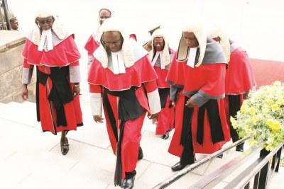 Zimbabwe judges (file photo).