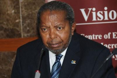 Bank of Uganda governor Emmanuel Tumusiime-Mutebile