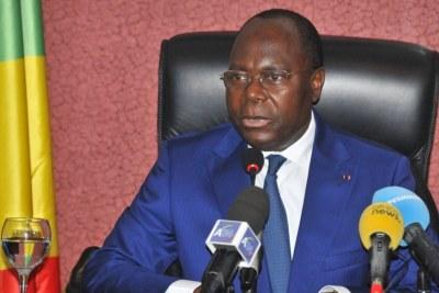 Clément Mouamba, Premier Ministre démissionnaire du Congo Brazzaville