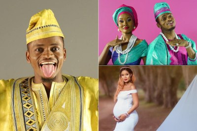 Is Diamond the father of Hamisa's child?